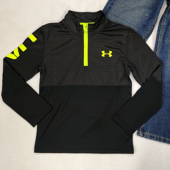 Under Armour Other - ⬇️Boys Under Armour Half Zip Lightweight Top